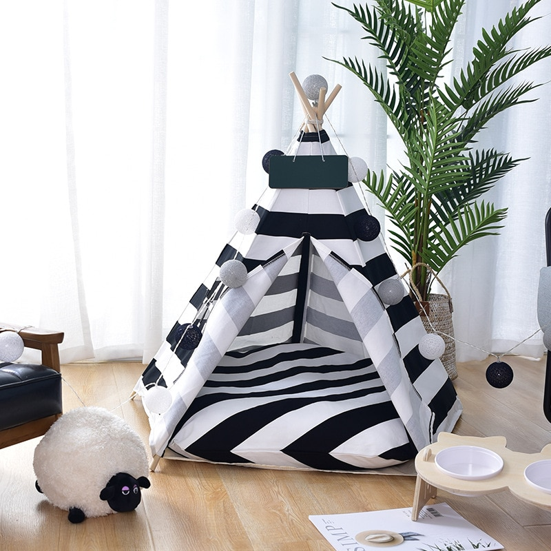 Luxury Dog Bed and Tent - 3 Eye-Catching Designs - 2 Sizes